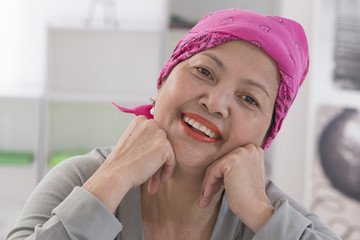 Portrait femme senior