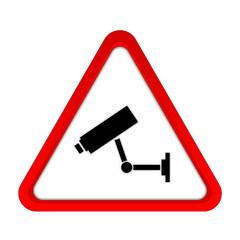 Kamera Videoüberwachung rot