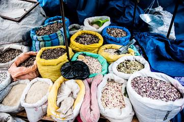 Mercato di Chivay, Perù