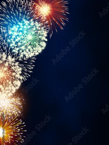 impressive fireworks - 74440888