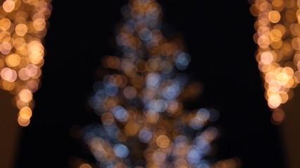 Glitzernder Weihnachtsbaum