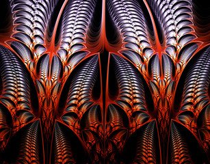 Computer generated fractal artwork