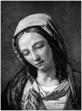 Christian Faith - Virgin Mary : Praying