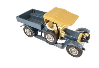 model of retro car