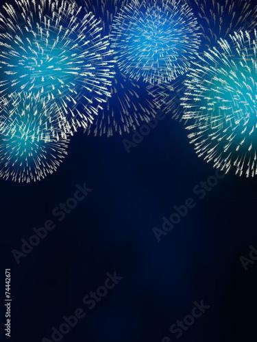 Leinwandbild Motiv impressive fireworks