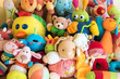 canvas print picture - Soft toys
