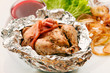 roast quail in the foil