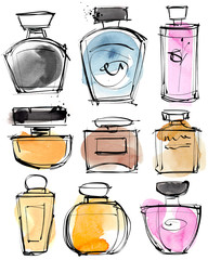 Parfume Sketches