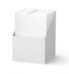 Blank packaging