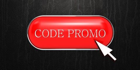 Code promo button