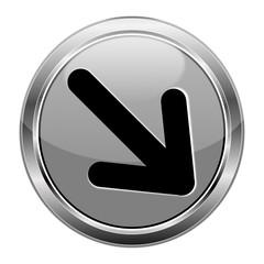 Button Pfeil grau  #141209-svg36