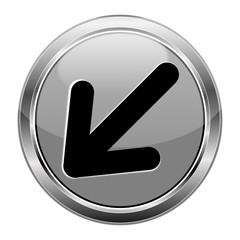 Button Pfeil grau  #141209-svg40