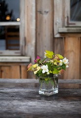 bouquet wild flowers