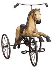 Antikes Dreirad für Kinder