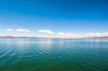 Lago Titicaca, perù