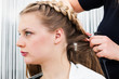 a hair styling