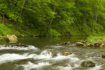 Whitewater River In Spring