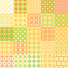 set of twenty-five seamless texture