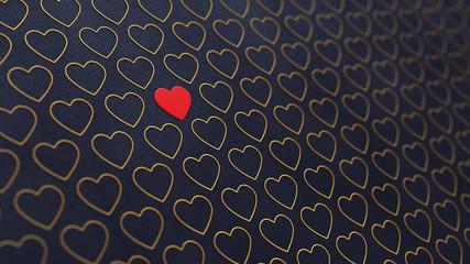 Valentine's day background , Wedding