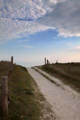 Une trouée bleue à l'horizon.