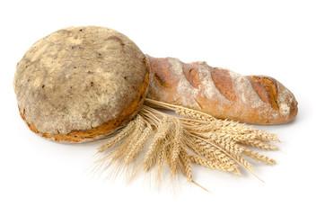 Schwarzwälder Brot und Roggenstange