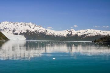 Aialik bay, glacier as background, Kenai Fjords (Alaska)