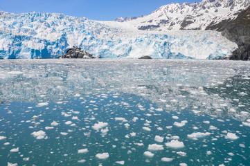 Aialik glacier, Kenai Fjords National Park (Alaska)