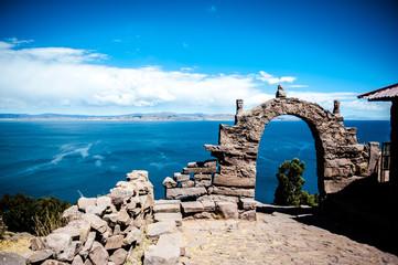 isola Taquile, lago Titicaca, Perù