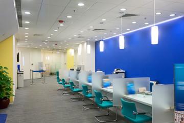 customer service room interior