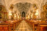 Wnętrze Sanktuarium św. Jadwigi w Trzebnicy