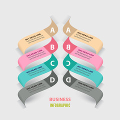 Business information graphic