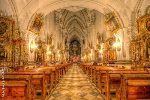 Zdjęcia na płótnie, fototapety, obrazy : Wnętrze Sanktuarium św. Jadwigi w Trzebnicy