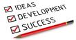 Концепция успеха. Ideas, development, success