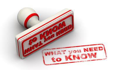 Что нужно знать (What you need to know). Печать и оттиск