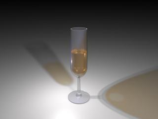 Bicchiere di Spumante