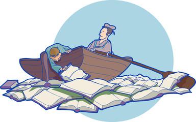 Pesca del libro