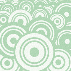 Abstract Retro Circle Flat Design Background