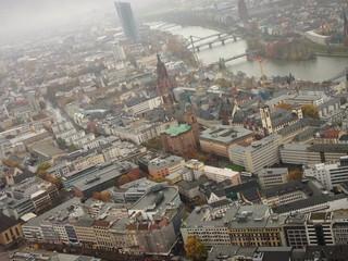 frankfurt from 55th floor