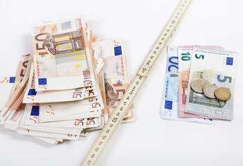 geld zollstock