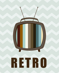 tv retro design