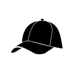 Baseball Cap in Flat Style