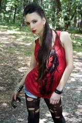 Punk music fashion