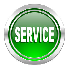 service icon, green button