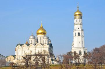 Архангельский собор и колокольня Ивана Великого, Москва