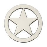 Round Sheriff Star