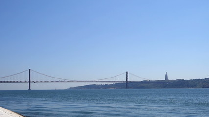 Portugal - Lissabon - Ponte 25 de Abril with Christo Rei
