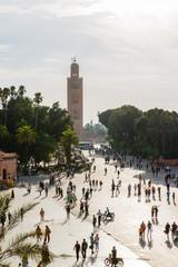 Djemaa el Fna plein in Marrakesh