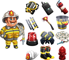Fireman the Fire Fighter