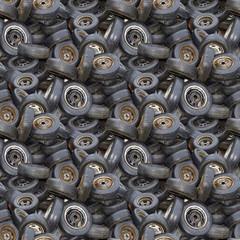 Old Tyres Texture