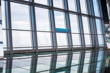 window in skyscraper
